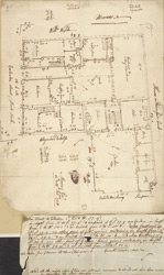Plan of property on Cateaton Street